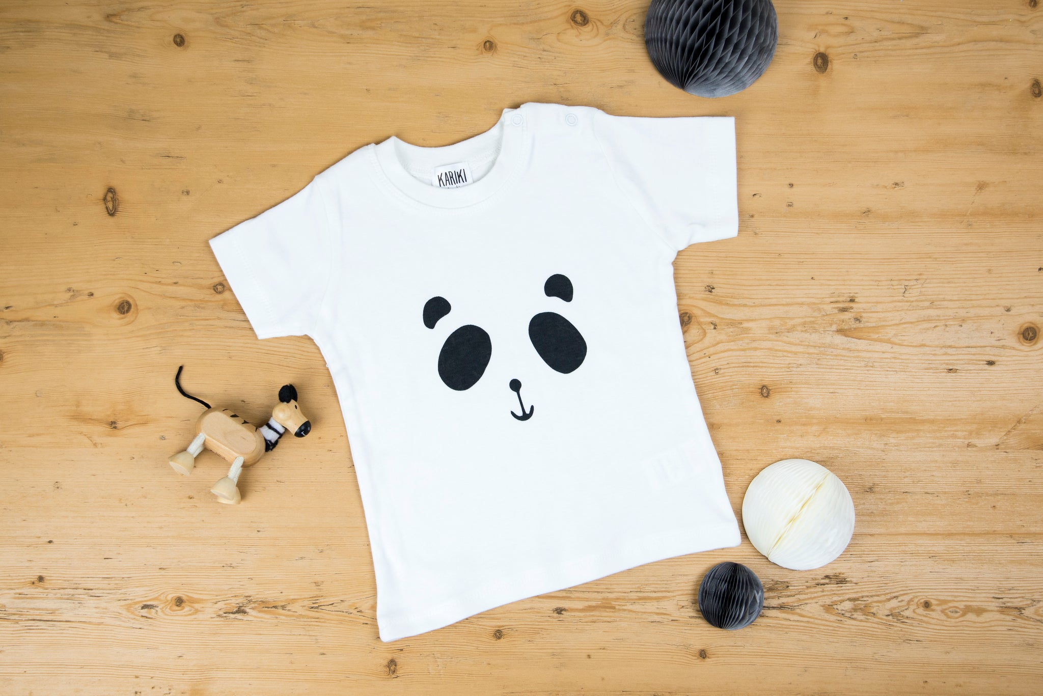 246b568e2892 Patch the Panda Baby T-shirt – Kariki Studio