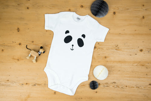 Patch the Panda Babygrow