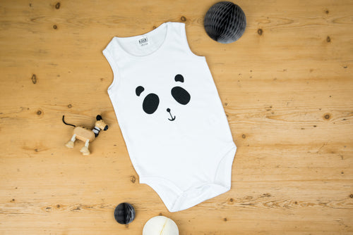 Patch the Panda Vest Bodysuit