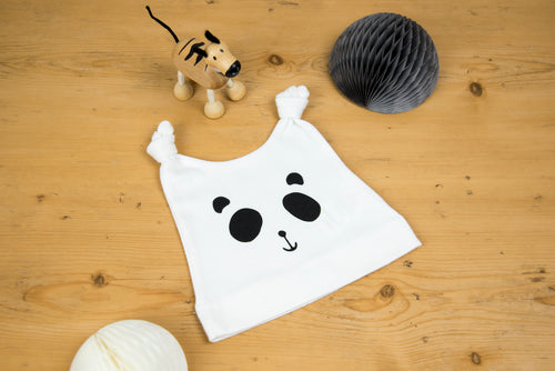 Patch the Panda Baby Hat