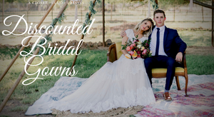 Looking to Save on Bridal Gowns? Dropped Prices on our Discount Wedding Dress Collection.