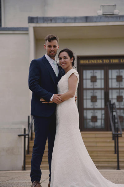 Kristine and her London Wedding