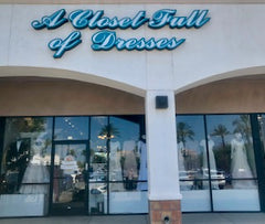 A Closet Full of Dresses location in Mesa Arizona modest wedding dress store