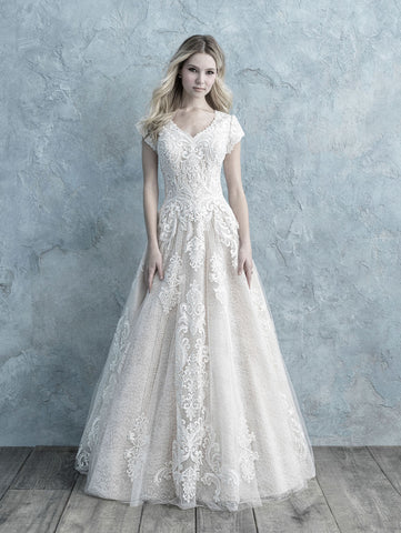 modest bridal collection allure bridals lace with sleeves cheap