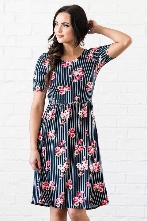 Mikarose Natalie Modest Casual Dress from A Closet Full of Dresses