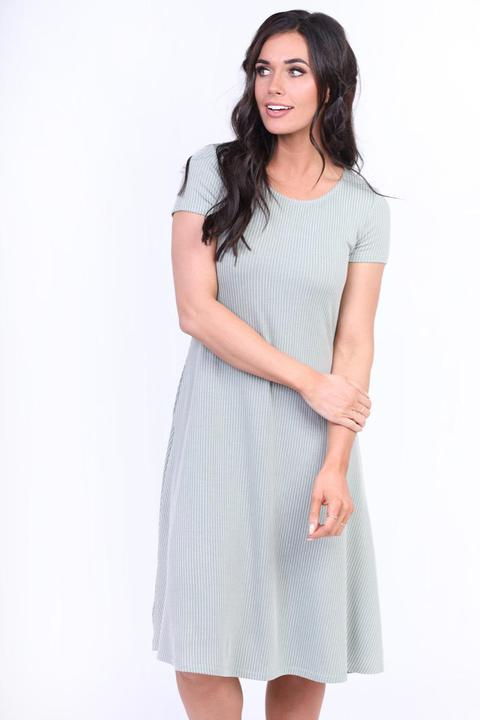 Jenny Sage Swing Dress from A Closet Full of Dresses