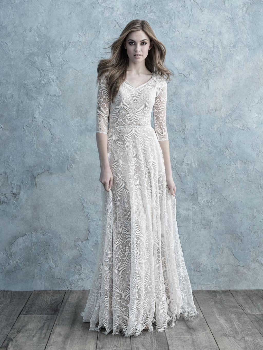 Allure Bridals M624 Modest Wedding Dress from A Closet Full of Dresses