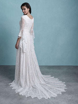 Allure M653 Modest Wedding Dress