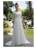 Venus Bridal TB7715 Modest Wedding Dress from A Closet Full of Dresses