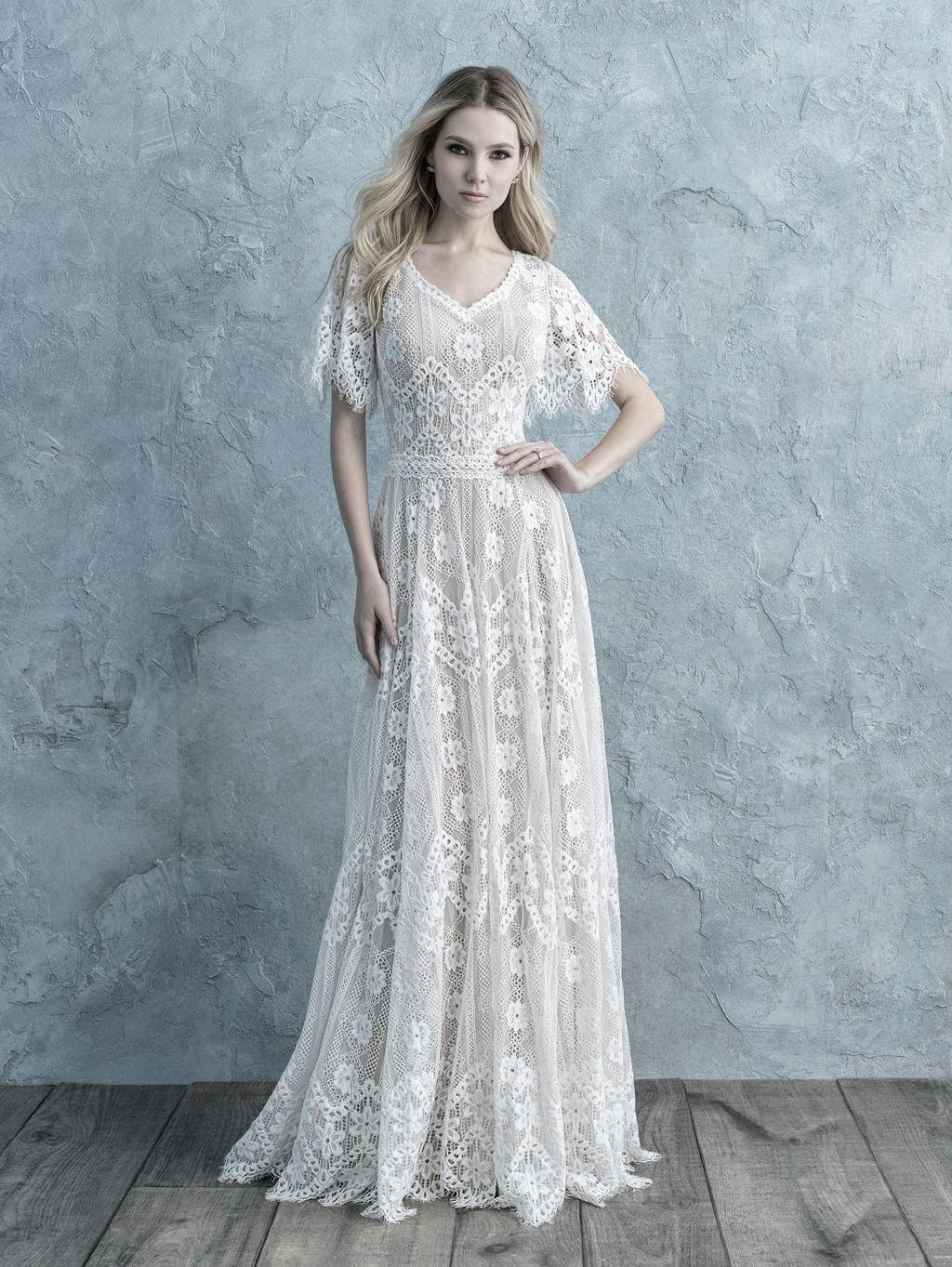 Allure Bridals M620 Modest Wedding Dress from A Closet Full of Dresses