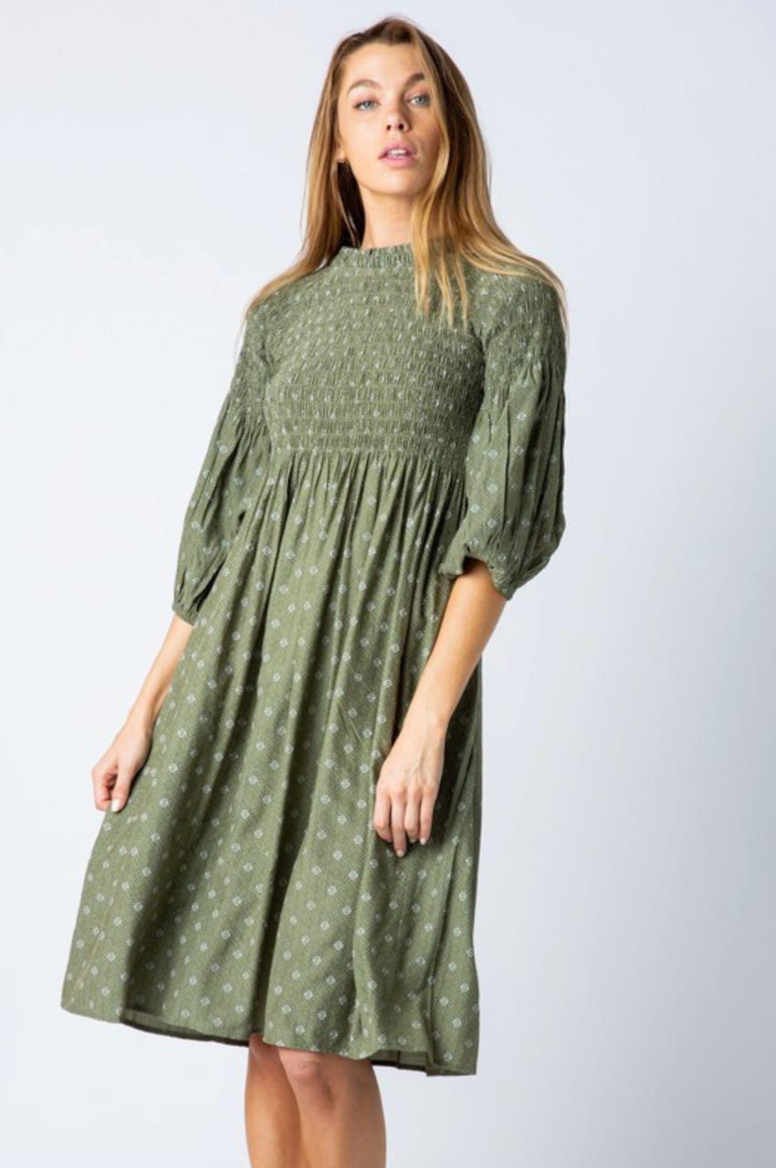 Daisy Olive Casual Dress from A Closet Full of Dresses