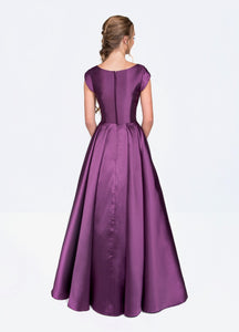 Mon Cheri Colette CLM19924 Modest Prom Dress from A Closet Full of Dresses