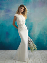 Load image into Gallery viewer, Allure M593 Modest Wedding Gown from A Closet Full of Dresses
