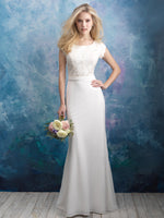 Allure M603 Modest Wedding Dress at A Closet Full of Dresses
