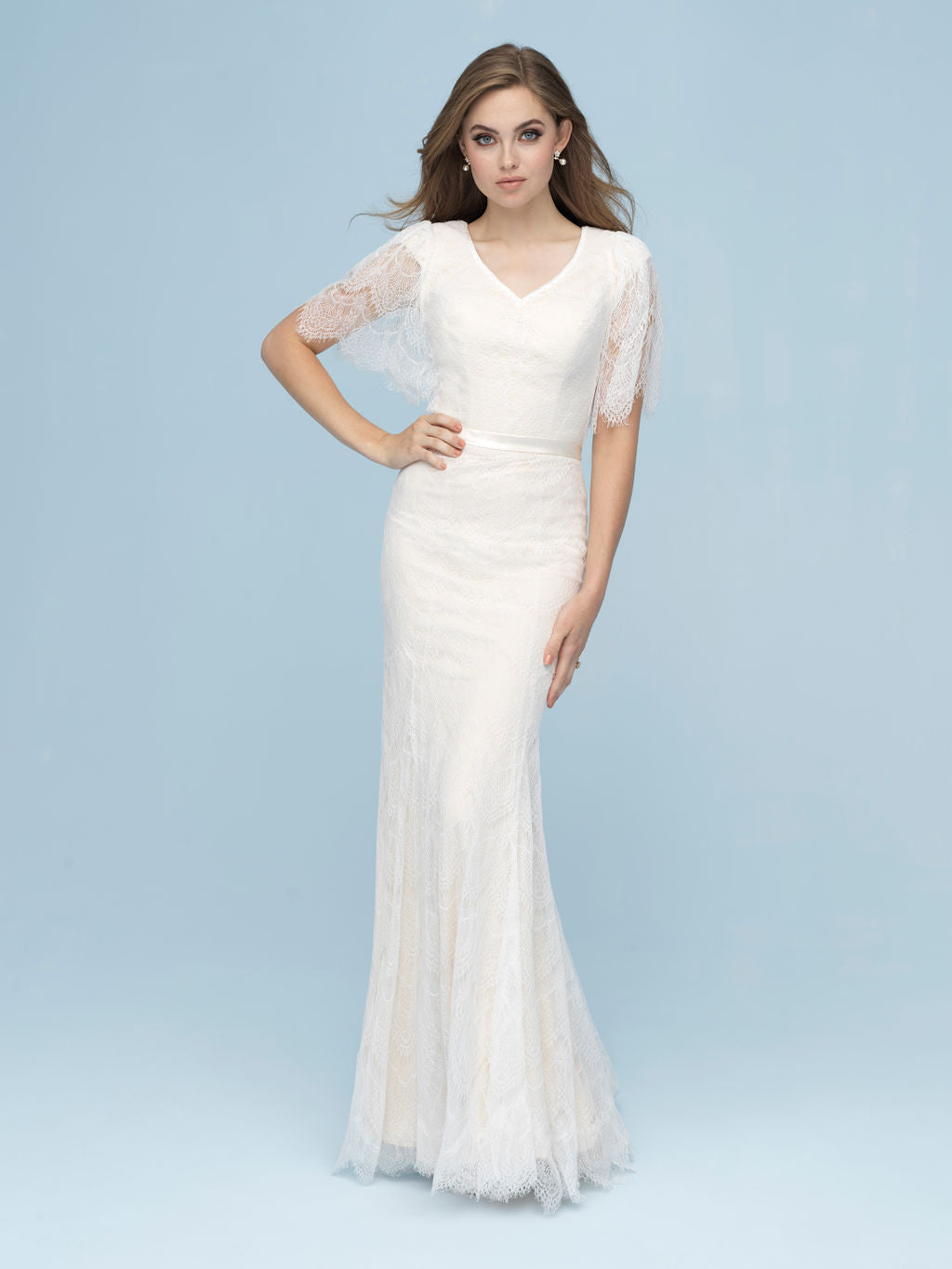 Allure M618 Modest Wedding Dress from A Closet Full of Dresses