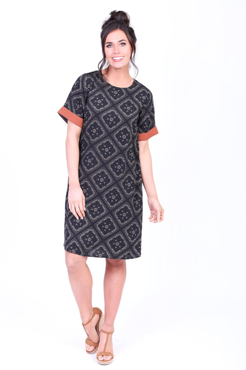 Sandi Modest Casual Dress from A Closet Full of Dresses