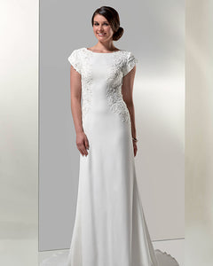 Venus Bridal TB7777 Modest Wedding Dress from A Closet Full of Dresses
