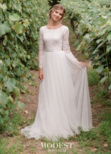 Load image into Gallery viewer, Mon Cheri TR11976 Modest Wedding Dress from A Closet Full of Dresses