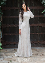 Load image into Gallery viewer, Mon Cheri TR11983 Modest Wedding Dress from A Closet Full of Dresses