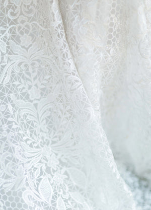 Mon Cheri TR11987 Modest Wedding Dress lace from A Closet Full of Dresses