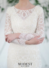 Load image into Gallery viewer, Mon Cheri TR21851 Modest Wedding Dress