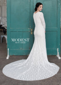 Mon Cheri TR21859 Modest Wedding Dress