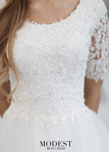 Load image into Gallery viewer, Mon Cheri TR21860 Modest Wedding Dress