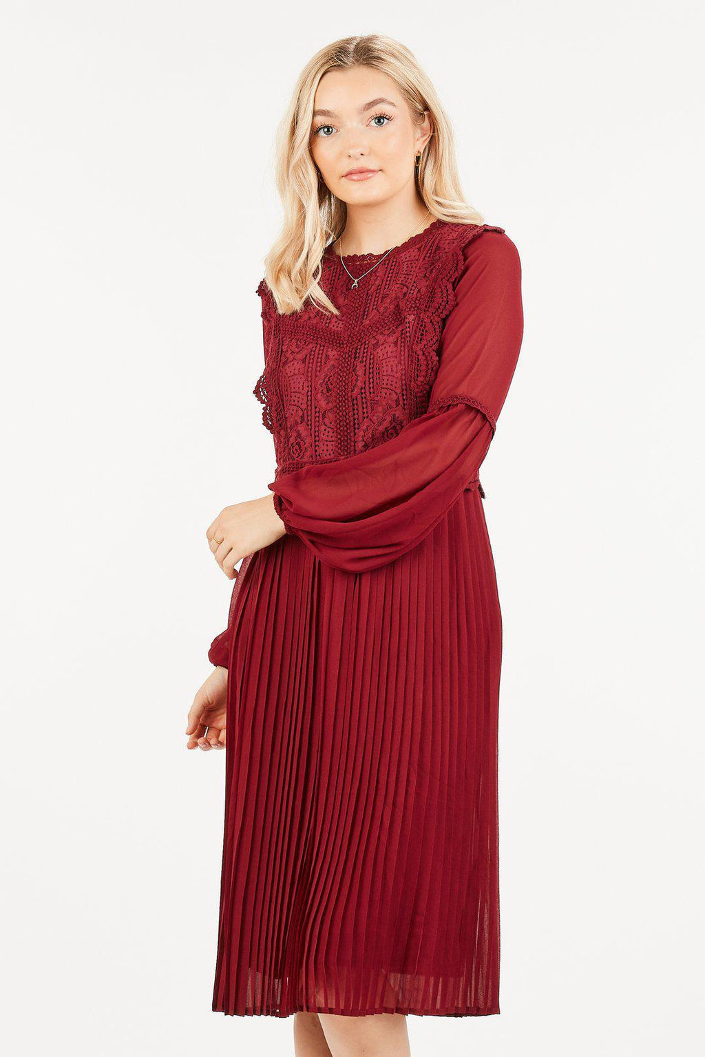 Ophelia Long Sleeve Casual Modest Dress from A Closet Full of Dresses
