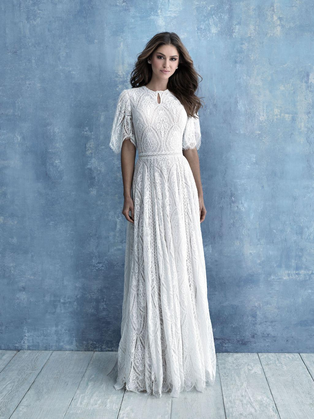 Allure M634 Modest Wedding Dress A Closet Full Of Dresses