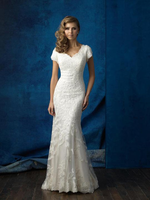 Allure M560 Modest Wedding dress from A Closet Full of Dresses