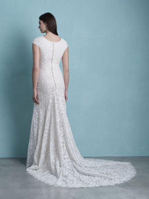 Allure M659 Modest Wedding Dress