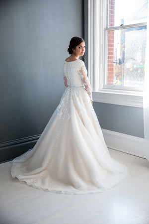 Oaklee Modest Wedding Dress