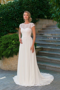 Norah Modest Wedding Dress