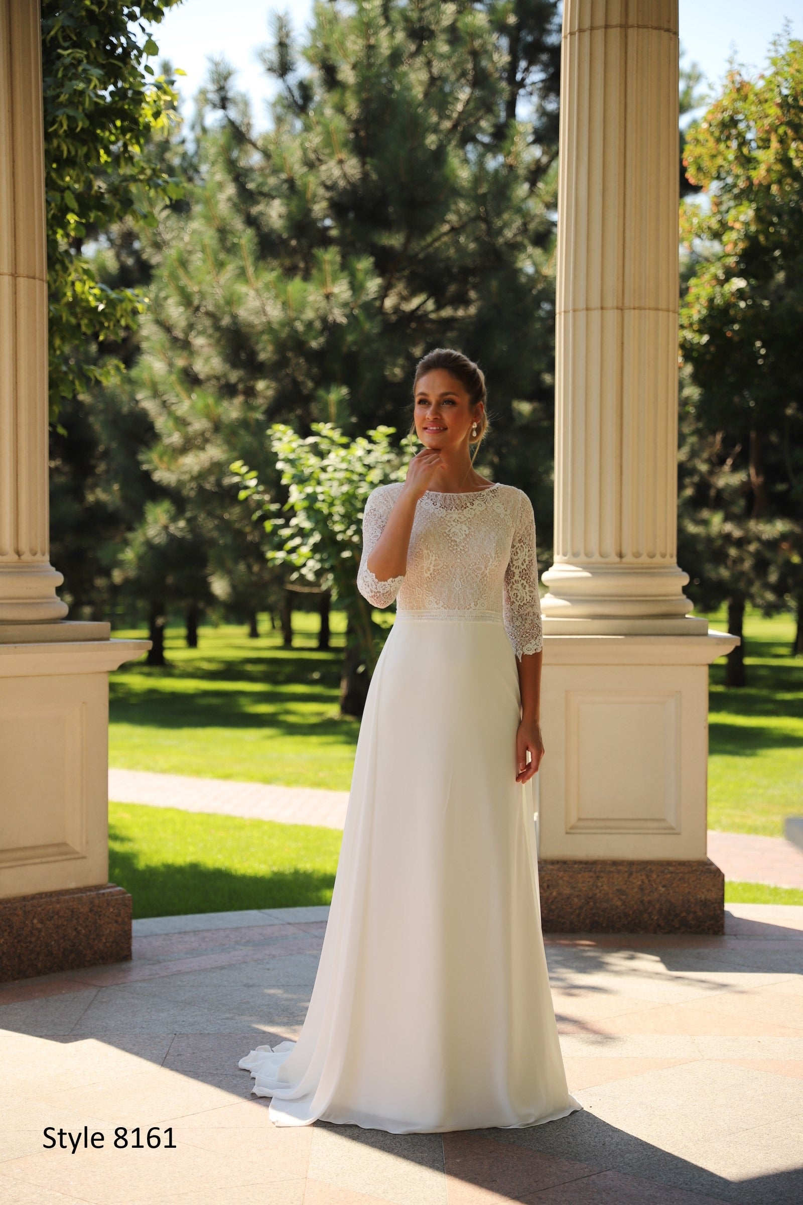 Adelyn 8161 Modest Wedding Dress