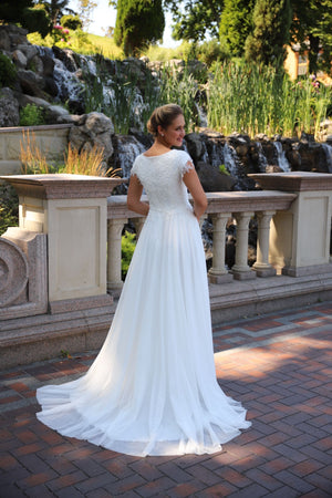 Maisie 8155 Modest Wedding Dress