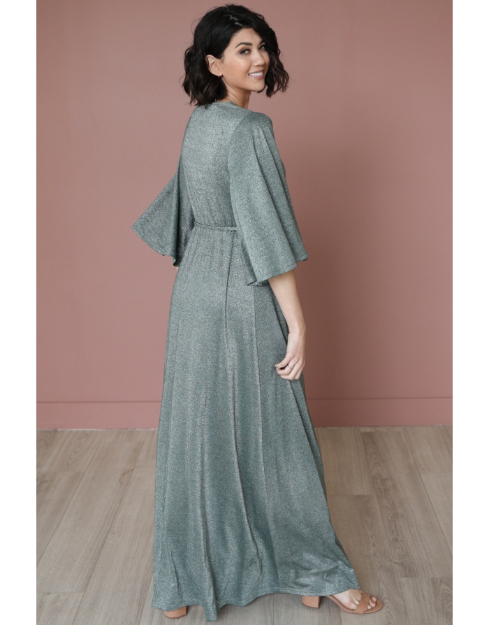 Lumee Green Sheen Maxi