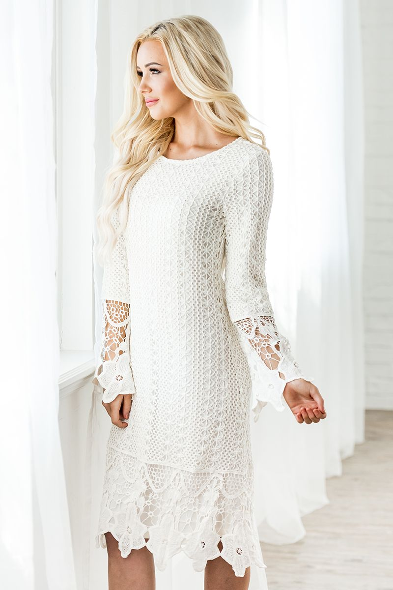 Lydia Boho Dress Cream from A Closet Full of Dresses