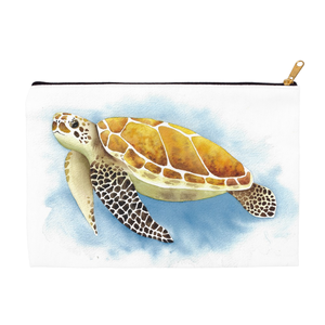 Sea Turtle Zippered Pouch