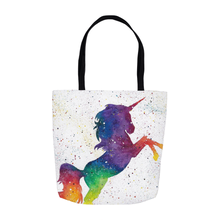 Load image into Gallery viewer, Galaxy Unicorn Tote Bag