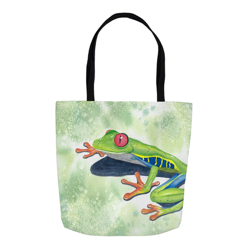Red-Eyed Tree Frog Tote Bag