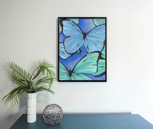 Load image into Gallery viewer, Butterflies Watercolor Print