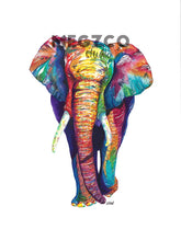 Load image into Gallery viewer, Elephant Watercolor Print
