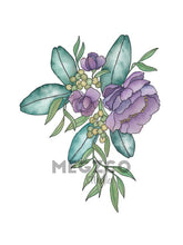 Load image into Gallery viewer, Floral Illustration #2 Watercolor Print