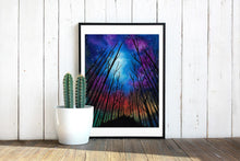 Load image into Gallery viewer, Northern Forest Watercolor Print