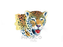 Load image into Gallery viewer, Jaguar Watercolor Print
