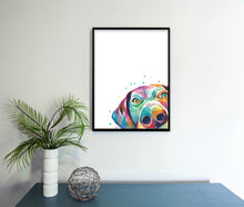 Load image into Gallery viewer, Peekaboo GSP Watercolor Print