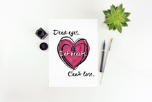 Load image into Gallery viewer, Heart Watercolor Print