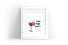 Load image into Gallery viewer, Shrimp Cocktail Watercolor Print