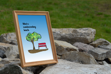 Load image into Gallery viewer, Bench Watercolor Print
