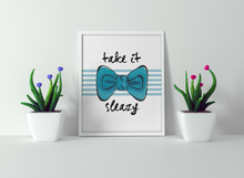Load image into Gallery viewer, Bowtie Watercolor Print